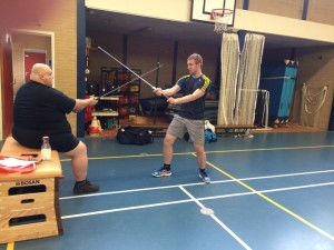 Longsword clinic by Harald Winter
